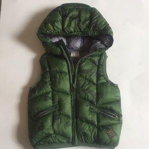 Green Zara Baby boy warm outerwear west.